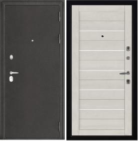 Дверь Колизей темное серебро 2127 бьянка Soft-touch экошпон