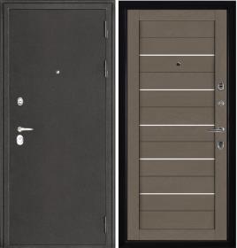 Дверь Колизей темное серебро 2127 тортора Soft-touch экошпон
