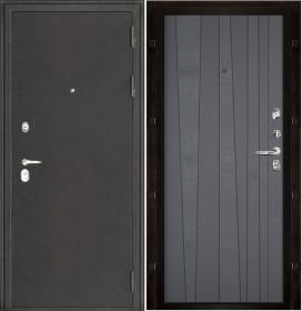 Дверь Колизей темное серебро Trend Grigio (RAL 7015) шпон