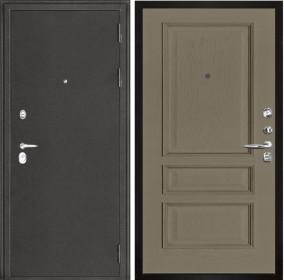 Дверь Колизей темное серебро Вена нефрит шпон
