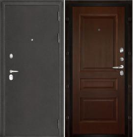 Дверь Колизей темное серебро Милан дуб (Т-2) шпон