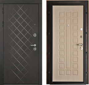 Дверь Президент Люкс Стандарт A 002 беленый дуб пвх
