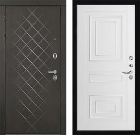 Дверь Президент Люкс Florence 3D 62001 серена белая экошпон