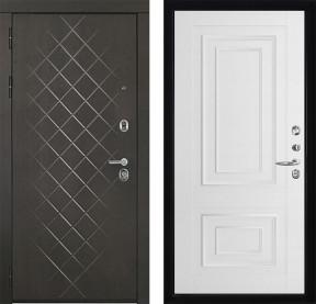 Дверь Президент Люкс Florence 3D 62002 серена белая экошпон