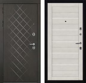 Дверь Президент Люкс 2127 бьянка Soft-touch экошпон
