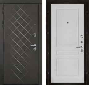 Дверь Президент Люкс Турин белая эмаль