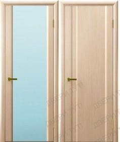 Дверь Техно 3 беленый дуб