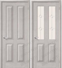 Дверь М 15 белый воск (Т-07)