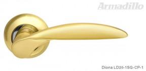 Ручка Armadillo Diona LD SG/CP матовое золото/хром