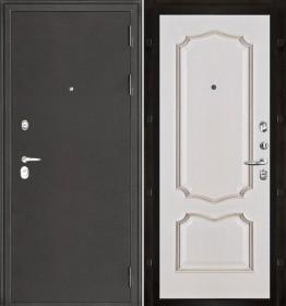 Дверь Колизей Премьера белая патина шпон