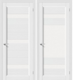 Дверь Леон белый зефир (Т-17)