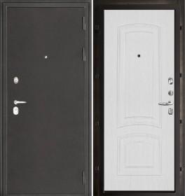 Дверь Колизей Лаура белый ясень пвх
