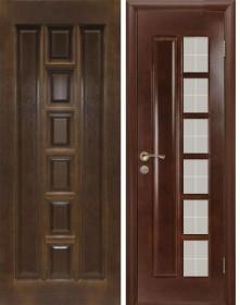 Дверь М 11 темный лак (Т-15)
