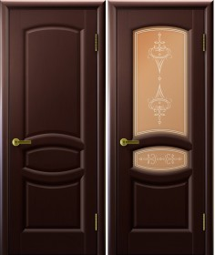 Дверь Анастасия Lux Legend венге